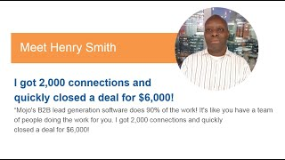 Henry Smith | Mojo Success Story