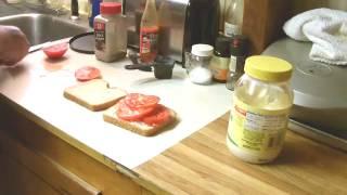 A Proper Tomato Sandwich
