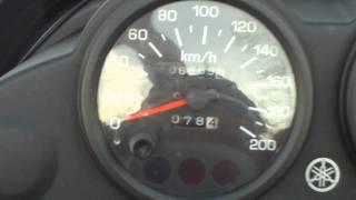 5. 2002 Yamaha Venture 600 triple