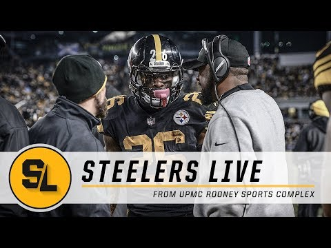Clarity on Le'Veon Bell, Tomlin's Injury Update on Steelers Live