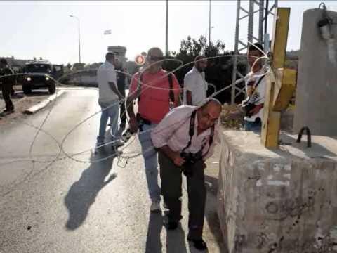 حملة حرية الحركة للصحفيين الفلسطينيين