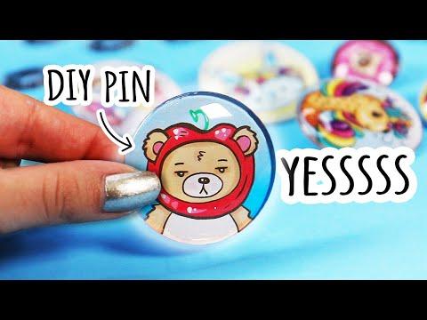 A New Way to Make Custom Pins!!