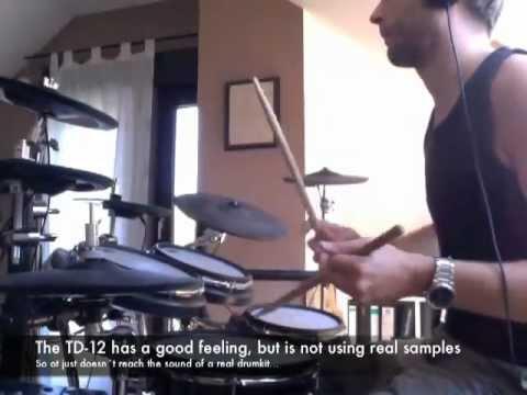 Roland TD-12 sound vs Superior Drummer 2.0