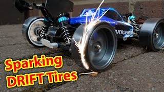 Video Sparking DRIFT Tires on DIRT CHEAP RC CAR - WLToys a959 Drifting MP3, 3GP, MP4, WEBM, AVI, FLV Januari 2019