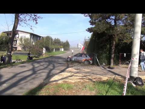 2.Rajd Jastrzębski 2014 - crash,action