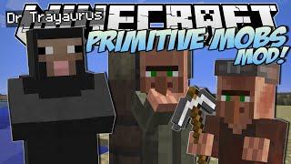 Minecraft | PRIMITIVE MOBS MOD! (SheepMen, Smart Villagers&More!) | Mod Showcase