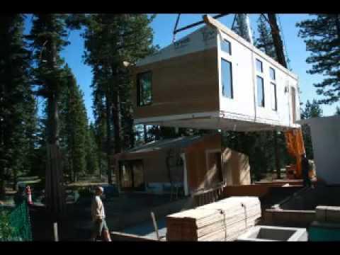 Prefab Home – Martis Camp, Truckee, CA Sage Modern