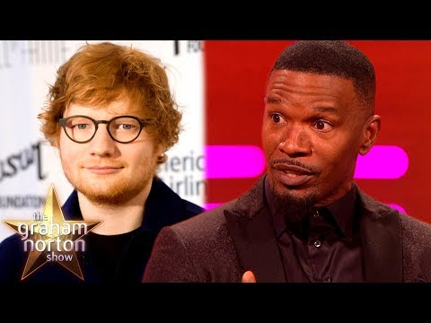 Jamie Foxx tells a story about when he took Ed Sheeran to an all black club to perform on stage before he was famous.