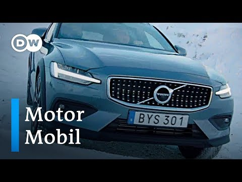 Volvo V60 Cross Country - Lastesel im Schnee | Motor  ...