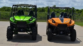 "10. 2014 Kawasaki Teryx4 LE with 30"" Mudder In-Law Tires"