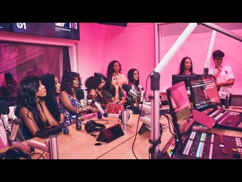 Normani With Nicki Minaj on Queen radio & has a surprise for us!?!
