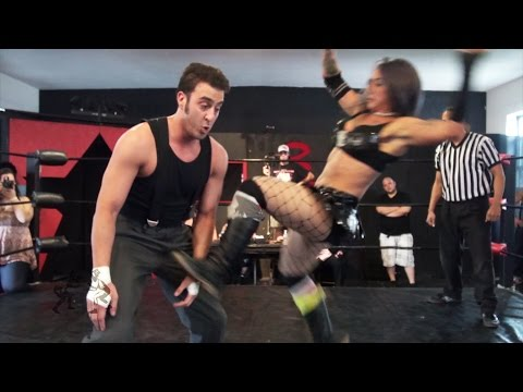 Christina Von Eerie vs. Sozio [Preview] – Beyond Wrestling 5/18 #SecretShow – Intergender Mixed