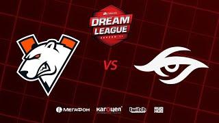 Virtus.pro vs Team Secret, DreamLeague Season 11 Major, bo3, game 3 [Casper & GodHunt]