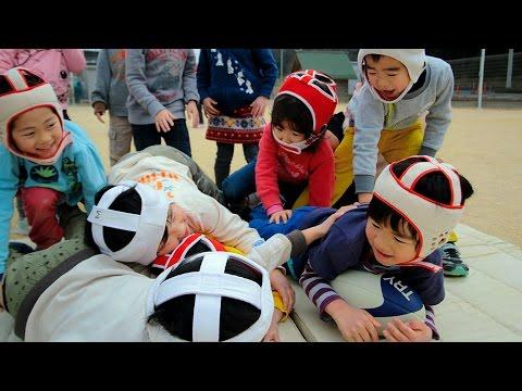 広がる「ラグビー遊び」 神戸で大会