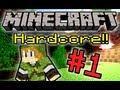 Minecraft Hardcore! - Part 1 (Ft. JonTron + The Completionist)