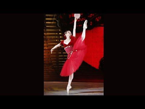 Большой балет. Инна Билаш. Вариация Эсмеральды из балета «Эсмеральда»