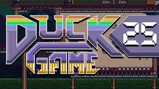 Duck Game w/ PokeaimMD, Chimpact & Gator CHIMP VS GATOR by PokeaimMD