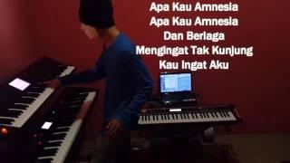 Al Ghazali - Amnesia (Official Lyric Video) Karaoke