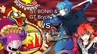 Set with LoF False & LoF Blue