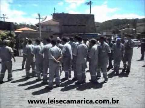 Garagem da Amparo, em Maricá é evacuada pelos Bombeiros em simulação em casos de incêndios