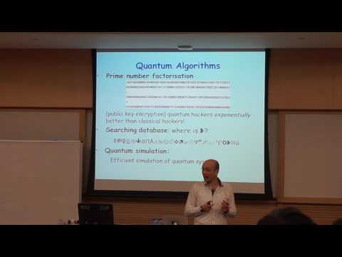 Jiannis K. Pachos - Why should anyone care about computing with anyons [Day 1]