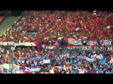 MEDELLIN vs anal Liga postobon II 01-SEP-2012 Fecha # 7 Salida del ROJO al ritmo de la MURGA - Rexixtenxia Norte - Independiente Medellín