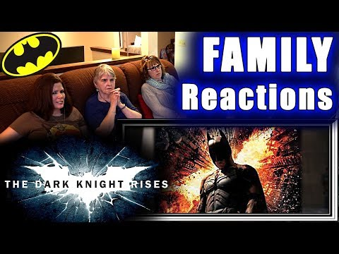 The Dark Knight Rises | FAMILY Reactions | Fair Use