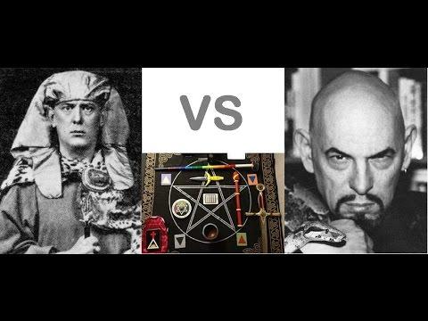 ⭐️Aleister Crowley vs Anton Lavey😈