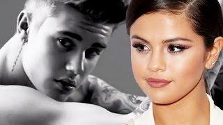Selena Gomez Reacts to Justin Bieber Shirtless Underwear Ad