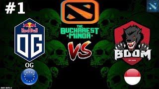 ПОБЕДИТЕЛИ TI8 В ДЕЛЕ! | OG vs BOOM-ID #1 (BO3) | The Bucharest Minor