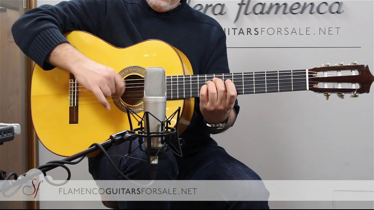 VIDEO TEST: Pedro Muriel 2018 flamenco guitar for sale