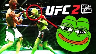 In this video I create Pepe the meme frog. I then take him into the online ultimate team world where he hops around and binks nubs.  Hi five that like button!►I Stream this game LIVE TWITCH TV Here http://www.twitch.tv/mmagame★I have twitter Follow Me On Twitter https://twitter.com/#!/MMAGAME1★EA Sports UFC 2 is a mixed martial arts fighting video game developed by EA Canada, published by Electronic Arts for the PlayStation 4 and Xbox One. It is based on the Ultimate Fighting Championship (UFC) brand.