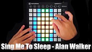 Sing Me To Sleep - Alan Walker - Launchpad MK2 Cover Video