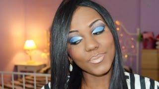 ♥ Veja mais Fotos no Blog :http://www.wappamodabrasil.com/2013/04/maquiagem-azul-pele-perfeita.html ♥ Instagram: http://instagram.com/wappamoda ♥ Facebook: h...