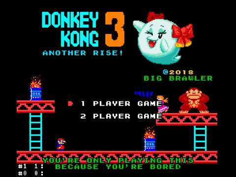 Donkey Kong 3: Another Rise! (Smw Hack)