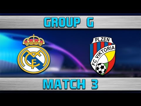 FIFA 19 | Real Madrid - Plzeň | UCL Group Stage - G | PS4/XONE