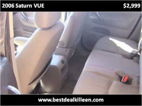 2006 Saturn VUE Used Cars Killeen TX
