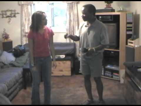 Demonstrating Ijaw Dance - part 1