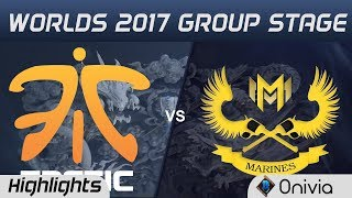 FNC vs GAM Highlights World Championship 2017 Group Stage Fnatic vs Gigabyte Marines by Onivia
