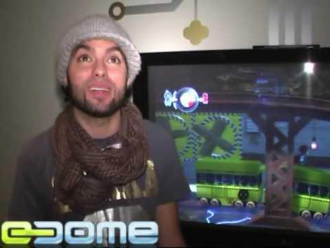 eDome: LittleBigPlanet videoesittely, haastattelussa Axl Smith/MTV tekijä: Checkpoint TV
