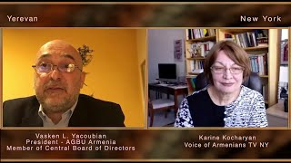 Interview with Vasken Yacoubian President AGBU Armenia