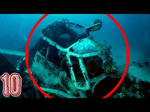10 misteriose scoperte sottomarine
