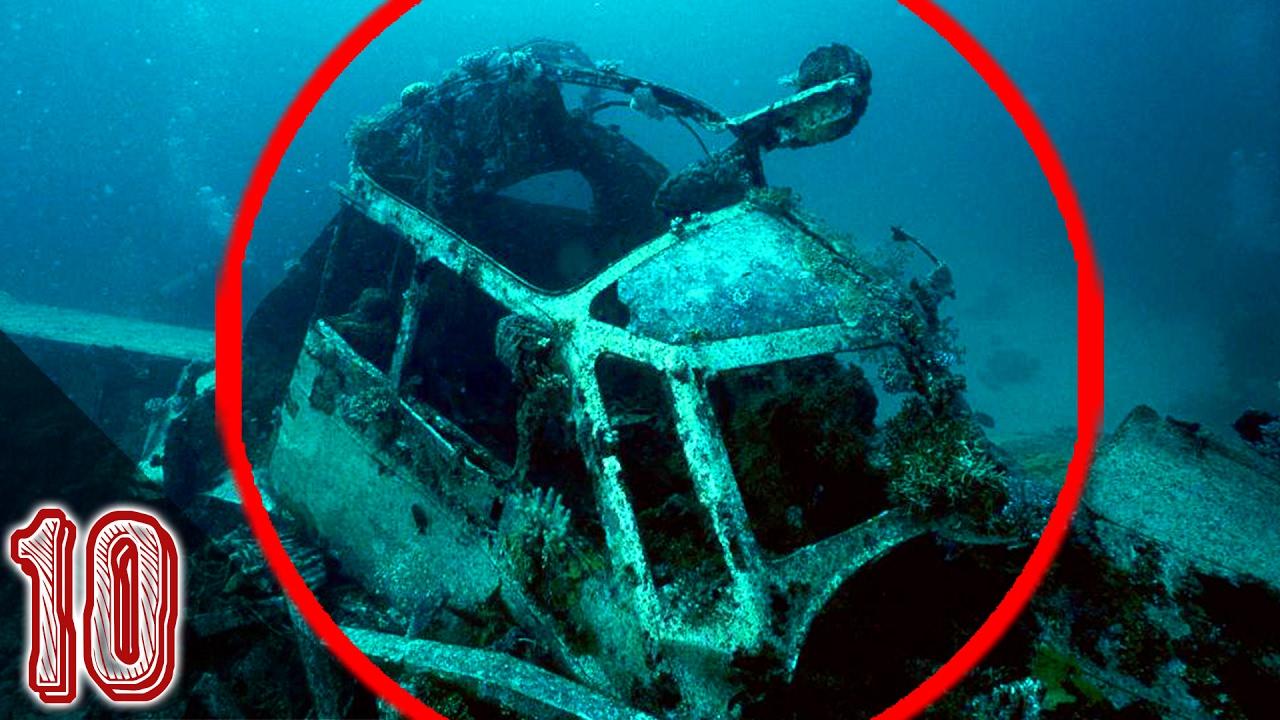 Misteriose scoperte sottomarine senza spiegazione