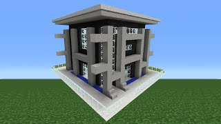Minecraft Tutorial: How To Make A Quartz House - 12