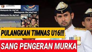 Video PANGERAN MALAYSIA MURK4 D1H1NA SUPORTER INDONESIA;TIMNAS MALAYSIA PULANGKAN SAJA;AFF U16;TIMNAS U16; MP3, 3GP, MP4, WEBM, AVI, FLV Maret 2019