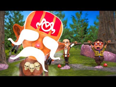 Oko Lele - Episode 41: The Mask - CGI animated short
