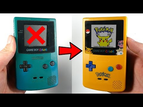 Restoring A Nintendo Gameboy Color
