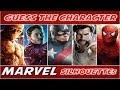 "Guess the Character ""MARVEL"" (By Silhouette) 