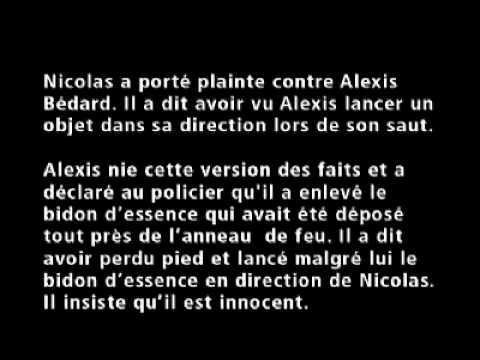 Procès criminel simulé : Sa Majesté la Reine contre Alexis Bédard