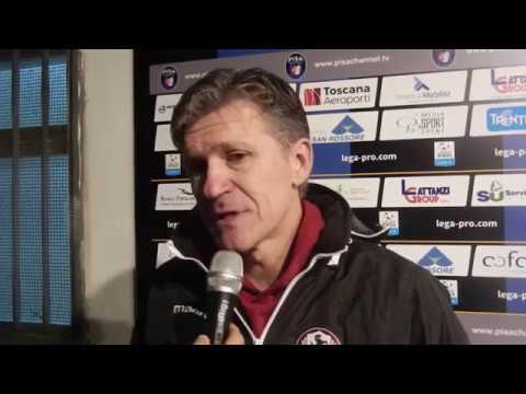 Pisa-Arezzo 2-3, intervista a Massimo Pavanel